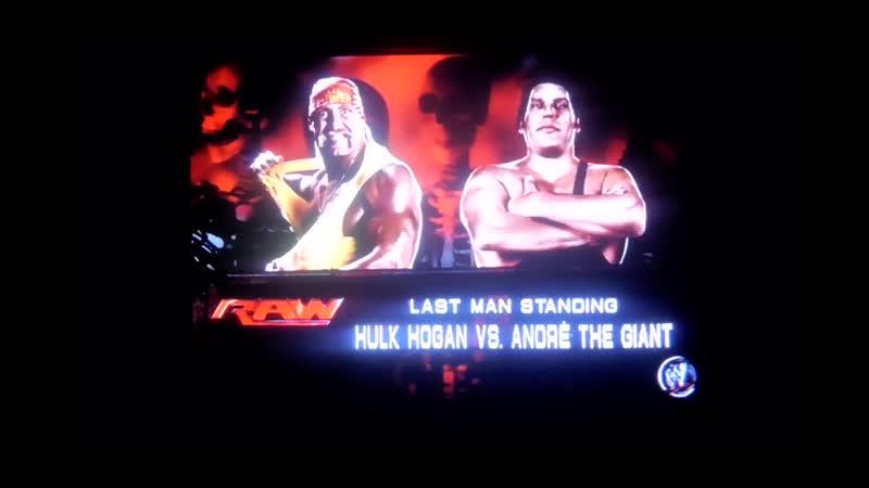 WWE2K14 Hulk Hogan vs Andre The Giant Халк Хоган против Андре Гиганта 11DeadFace