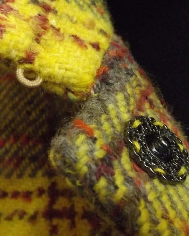 Наша работа - #пальто из роскошной тёплой 100% шерсти #Burberry, отделка хлопковым бархатом, подкладка 100% вискоза, застёжка на кнопки.