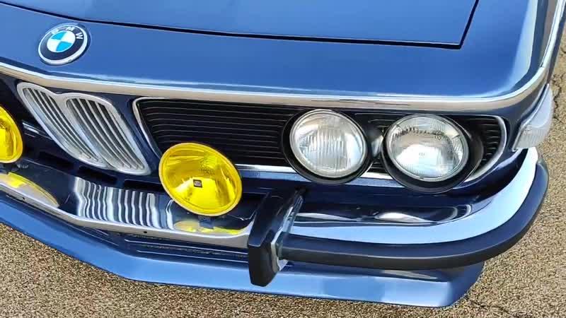 BMW E9 CSi exterior/1973.