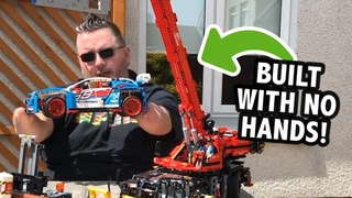 Man Born Without Hands Builds LEGO to Inspire Others