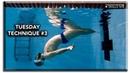 Backstroke swimming basic technique Tuesday 3 - floating