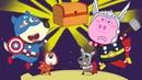 CAPTAIN AMERICA WOLFOO VS THOR PIGGY SAVE SPACE TREASURE