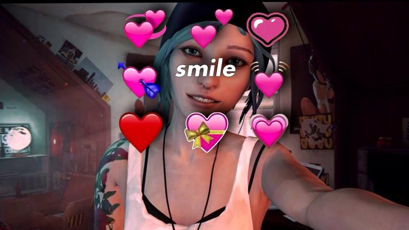 Chloe You so fuckin' precious when you smile