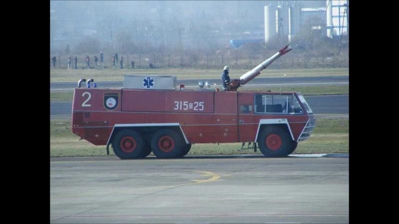 Gdańsk112 Prezentacja Pojazdu Chubb Pathfinder GCBA 14 78 Lotniskowej Straży Pożarnej