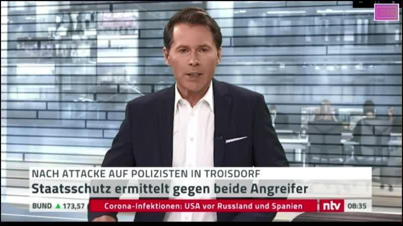 MASvid Vorfall Troisdorf NTV outet sich als übler Hetzer un ehrenhaftes u bösartiges Mitglied der Lügenpresse u NEWS FAKER