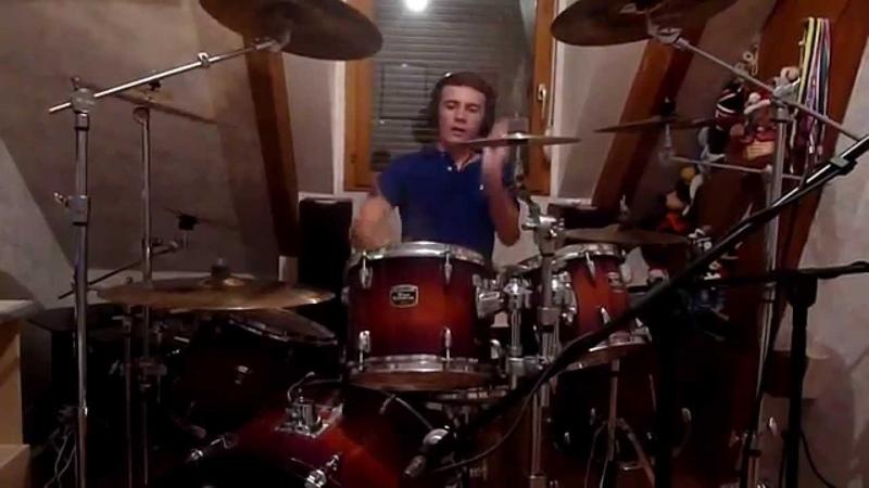 Rock Me Amadeus - Edguy (Originally by Falco) Drum Cover by Gauthier GO Drummer