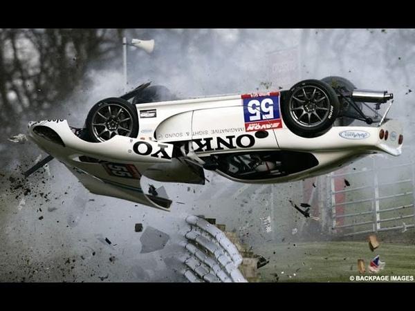 Подборка аварий на гонках автокатастрофы машины в хлам 18 1