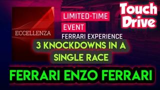 Asphalt 9 | Touch Drive {60 FPS} | Ferrari Legend Pass Episode 07 | 3KDs with Ferrari ENZO Ferrari |