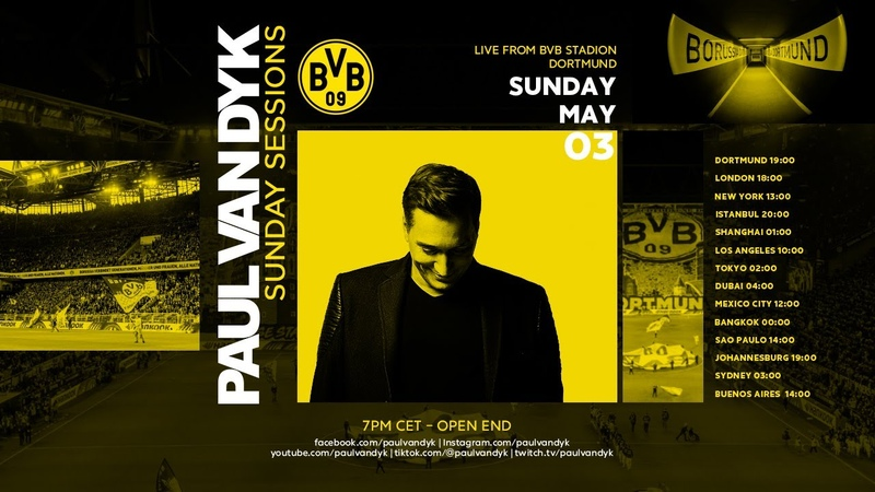 Paul van Dyk's Sunday Session 8 LIVE from the BVB stadium in Dortmund