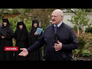Лукашенко: Вас не загоняли сюда специально? А то опять в этих, знаете где, напишут! Ну, пускай пишут