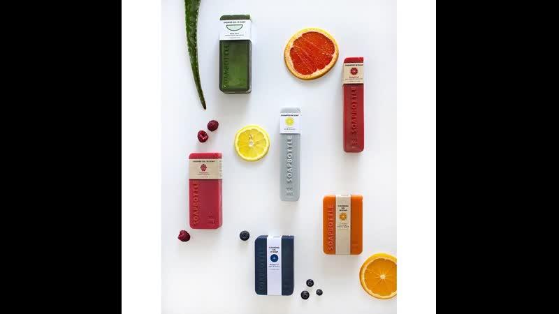 Эко-дизайн упаковки для шампуня – бутылочки из мыла