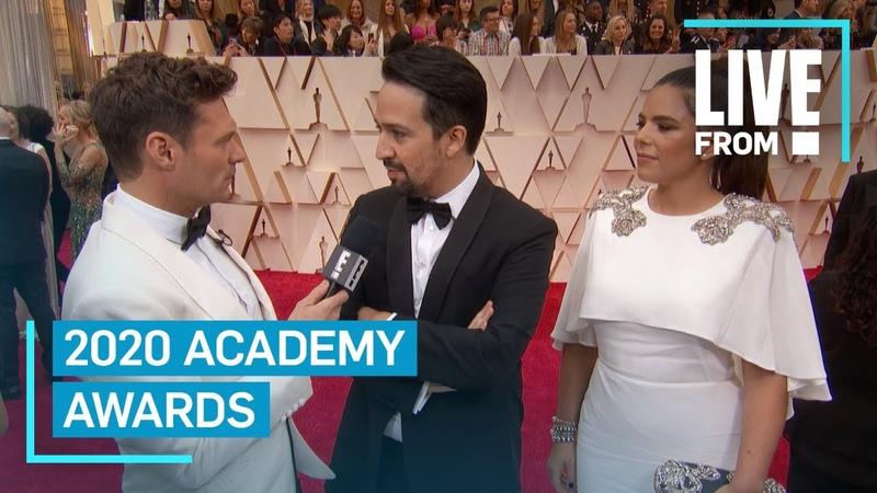 Lin Manuel Miranda Explains Trio of Documentaries at 2020 Oscars E Red Carpet Award Shows