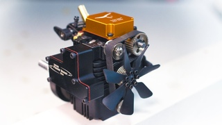 Miniature 4-Stroke Engine - (Building and Running the Engine)
