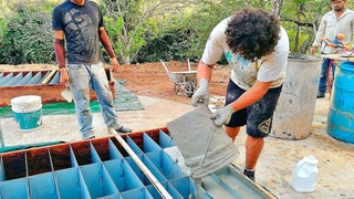 Это Гениально! Построили Дом из Цемента и Средства для Мытья Посуды своими руками!