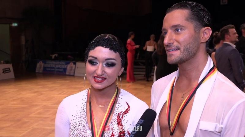 Charles-Guillaume Schmitt - Elena Salikhova FRA, Interview, German Open Championships 2019