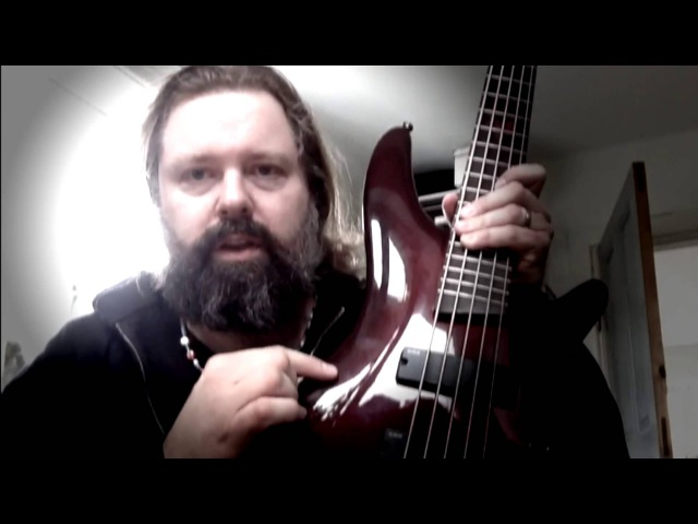 Peter Iwers of In Flames on his Ibanez PIB3 Signature Bass