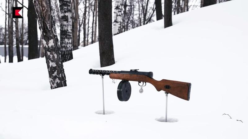 В интернете из него никто не стрелял Пистолет пулемет Дегтярева ППД 34