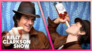 How Ian Somerhalder & Paul Wesley Bonded Over Bourbon
