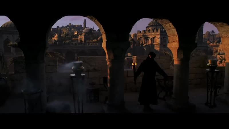 Король Иерусалима Разговаривает с Балианом сына Готфрида Царство небесное 2005 Момент