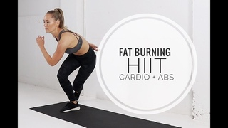 Crazy HIIT CARDIO + ABS Workout / No Equipment