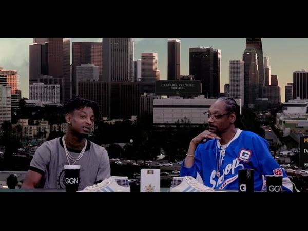 Snoop Dogg и 21 Savage отвечают на вопросы. Русская озвучка.
