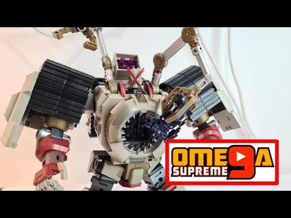 MMC R 44 Tortor Tesarus Decepticon DJD Transformers Review