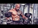 Dwayne The Rock Johnson BEAST MODE Gym Workout Motivation