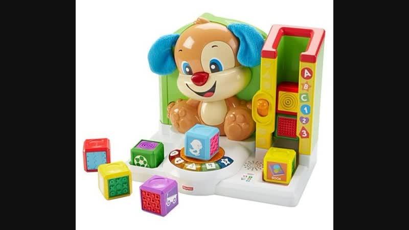 Интерактивная игрушка Первые слова от Fisher Price Уняша ПрокатУняша ПервыеСлова УмныйЩенок щенокFisherPrice