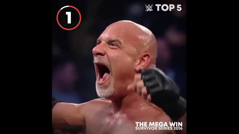 Топ 5 самых важных моментов Голдберга после возвращения в WWE