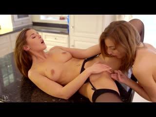 Лесбиянки ласкают друг другу киски _ Sybil  Katy Rose - Travel Secrets _ Sex, l