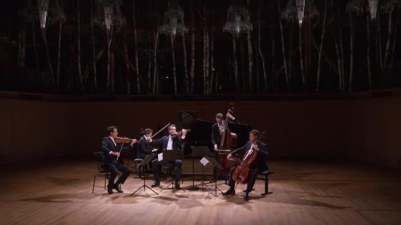 La Grange au Lac Le Quatuor Modigliani, Bertrand Chamayou, Gautier Capuçon Yann Dubost - Schubert (Évian, 6.07.2020)