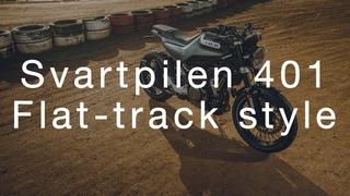 Svartpilen 401 - Flat-track style | Husqvarna Motorcycles