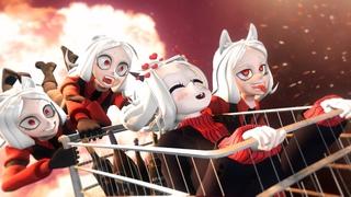 [SFM] Helltaker: Hellish Weekdays Story (Lucifer, Cerberus, Modeus, Justice animation)