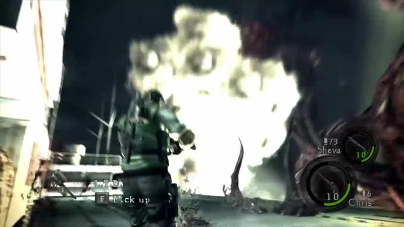 Босс Вертолёт Ах да был же ещё Resident Evil 5 Устаревший некстген