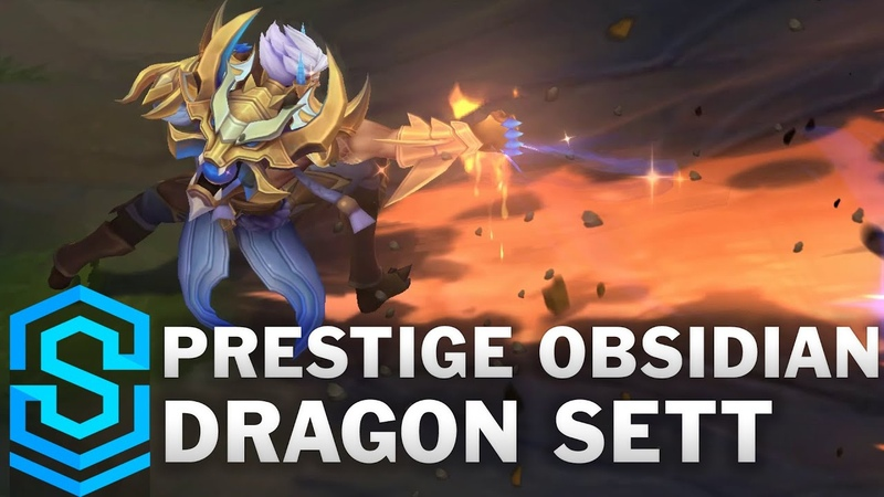 Prestige Obsidian Dragon Sett Skin Spotlight Pre Release League of Legends