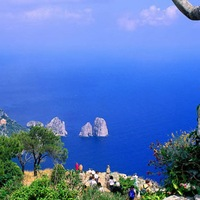 Италия - Остров Капри - Амальфитанское побережье