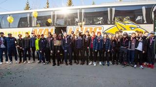 Встреча чемпионов. В Магнитогорске чествовали команду «Металлург-2006»