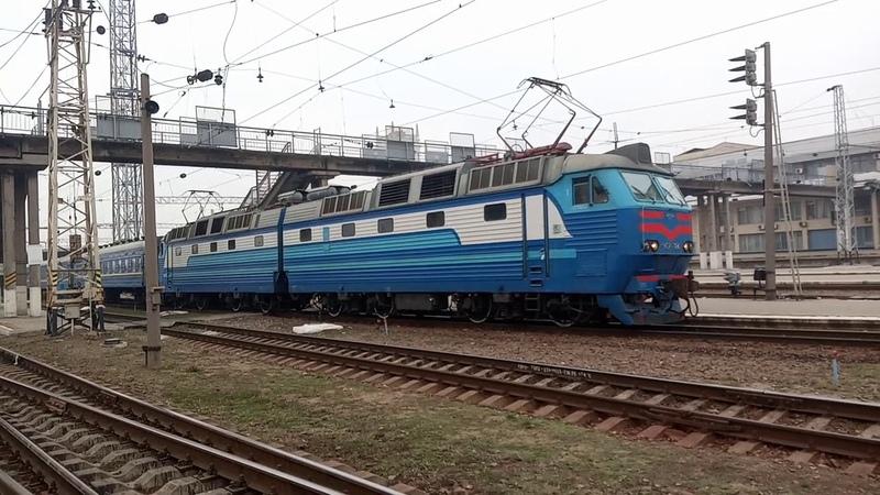 восстановленный рейс отправление чс7 184 с 141 Львов Бахмут со ст Харьков пасс 1