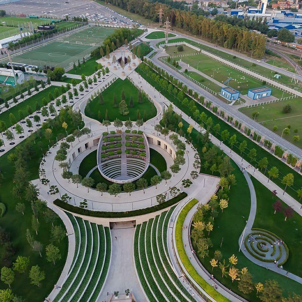 Парк Галицкого: один из лучших парков России