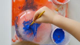 Painting on Ice - Fun Kids Activities