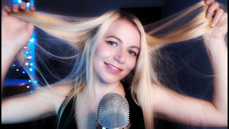 RELAXING HAIR SOUND ASMR l Расслабляющие АСМР звуки волос
