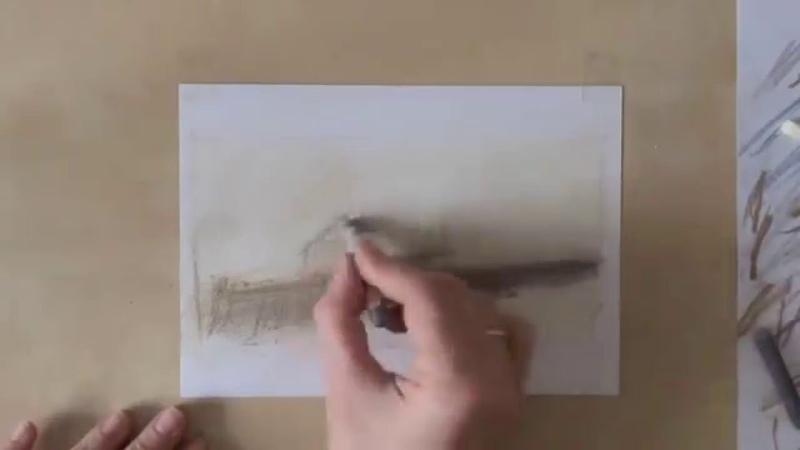 Эскизное рисование, часть 3. Эндрю Уайет