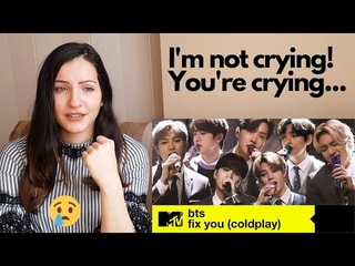 First time reacting to BTS MTV Unplugged - Fix you and Telepathy live performance reaction