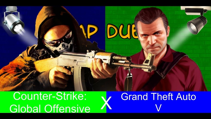 Rap Duel-Grand Theft Auto V (GTA 5) X Counter-Strike Global Offensive (CSGO)