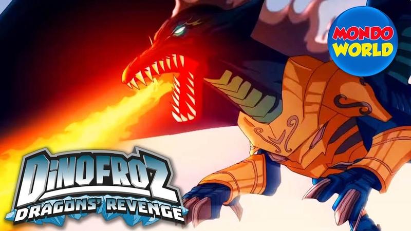 DINOFROZ 2 episode 1 RETURN TO THE PAST WORLD Dinosaur cartoon for kids