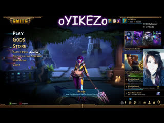 Playing Some Smite and ESO, What do you want to watch?