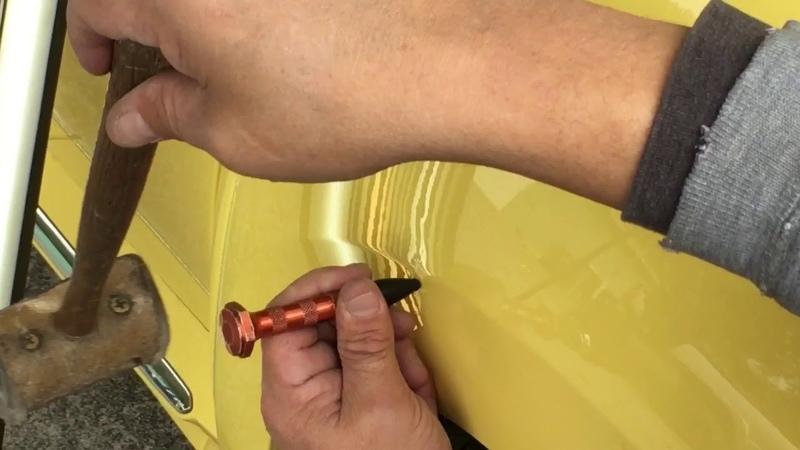 PDR vs.⚡️Bodyline Dent | Difficultly Level 9😳..on '14 VW🐞Beetle undented pdr Volkswagen