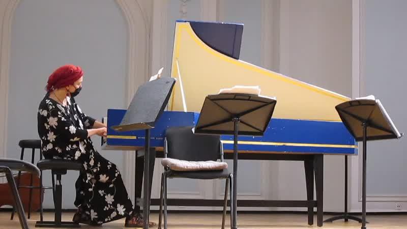 Влюблённый соловей пьеса для клавесина Елизавета Миллер