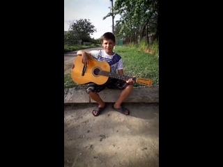 Я парнишка седой (кавер на гитаре) - Виталий Пармаков