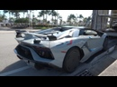 Lamborghini Aventador SVJ Roadster - Awesome Looking ANGRY BULL - Arriving to Lamborghini Miami.